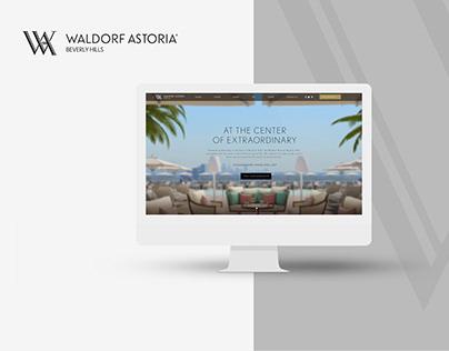 Waldorf Astoria Beverly Hills Site design