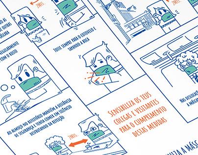 Ilustração - COVID19 STEF LOGISTICS