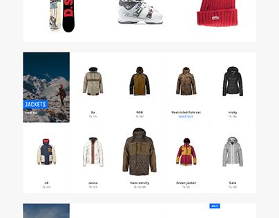 Shopify Adventure Product Sale