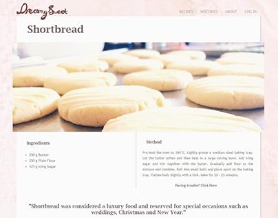 Dreamy Sweet website