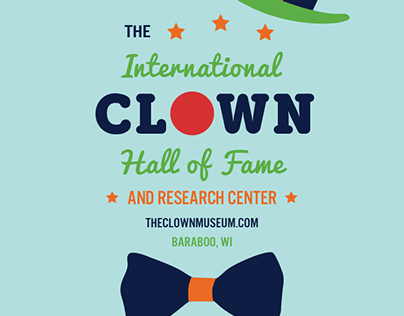International Clown Hall of Fame Animated Poster