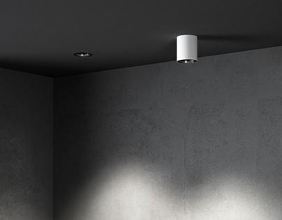 Kombic 100 Downlight - Lamp