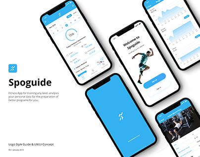 Spoguide | Logo Style Guide & UX/UI Design Concept
