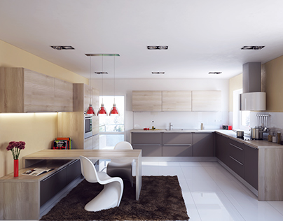 Visualization of Kitchen A