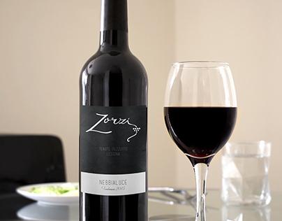 Zorzi Wine Label