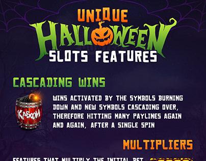 Unique Halloween Slot Machines Features