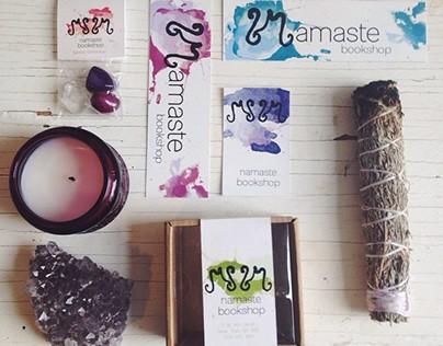 Namaste Bookshop Rebrand Project