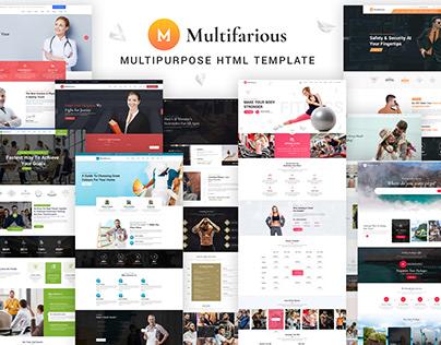 Multifarious - Multi-Concept HTML 5 Website Template