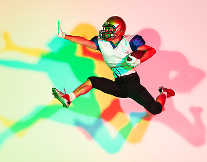 """Colored Shadows"". Football, tennis, skateboard + BTS"