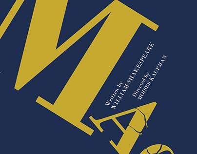 Macbeth Typographic Poster