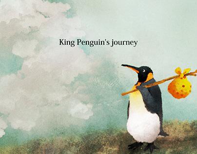 King Penguin's journey