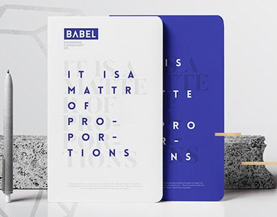 BABEL engineering consultancy Branding