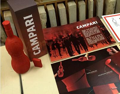 Projeto Garrafa CAMPARI (Trabalho Acadêmico)