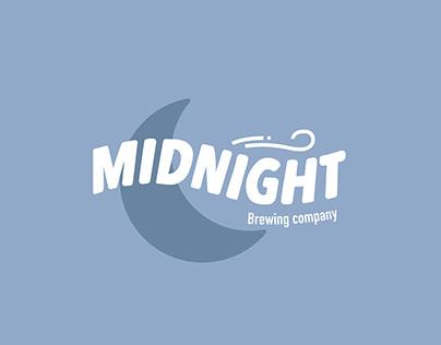 Midnight Brewing Company Logo