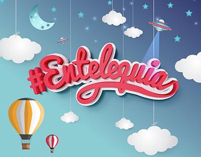 Lettering - #Entelequia
