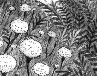 Book Illustration - Gangamma's Gharial