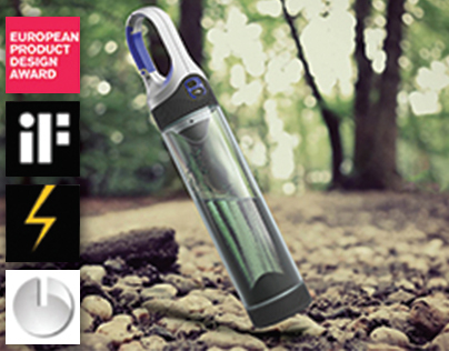 BOTTLELIGHT - water purifier and camping light