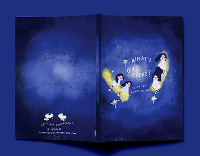 What's Out There? Children's Short Story Book