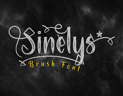 Free Sinelys Brush Font
