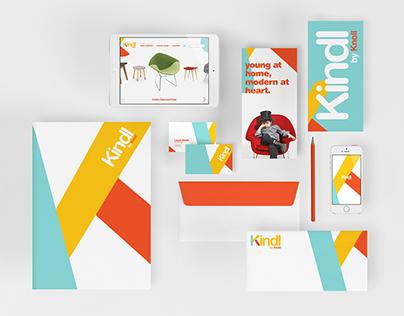 Kindl by Knoll: Modern Kids Branding