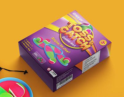 Toss & Catch - Packaging