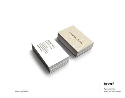 Business Card and E-Signature