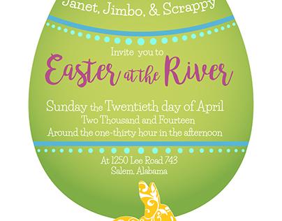 Easter Dinner Invite