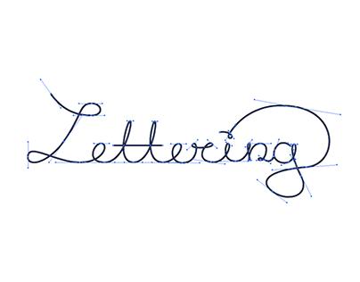 Lettering design