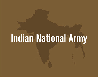 Indian National Army - Infographic