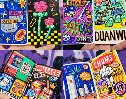 涂鸦日记 / Doodle Diary