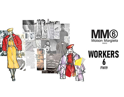 Workers6 // MM6 by Maison Margiela