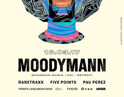 MOODYMANN x La3 Club