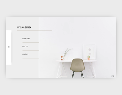 interior design home page concept