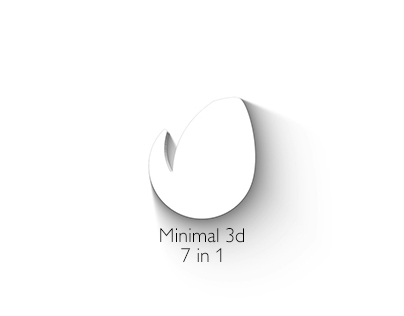 Minimal 3d - Elegant Logo-After Effects Template