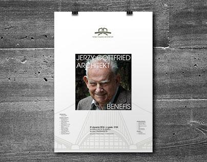 JERZY GOTTFRIED ARCHITEKT BENEFIS Poster