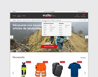 E-shop Wydler