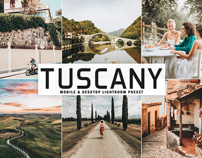 Free Tuscany Mobile & Desktop Lightroom Preset