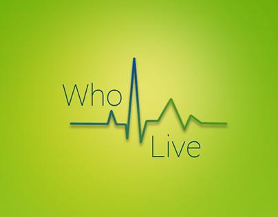 WhoLive App Concept