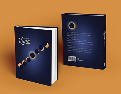 Redesigned Book Covers  of Luna and Gathering Blue
