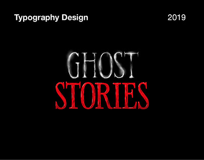 Netflix Ghost Stories- Title Sequence Typography Design
