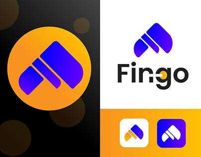 Fingo   F Latter Modern Logo   F icon design
