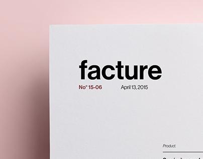 Invoice Template - Self Branding