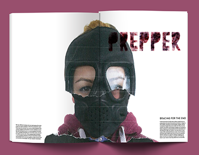 Editorial magazine: Preppers
