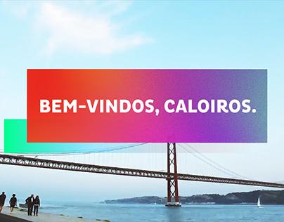 """Video """"Bem-vindos a Lisboa."""""""
