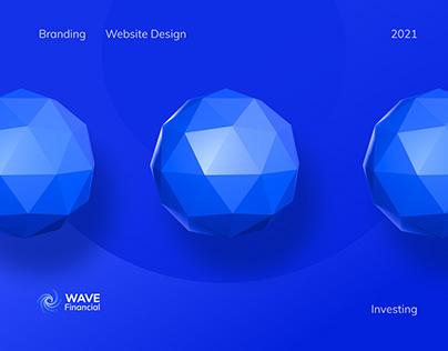 Fintech Branding and Web Design | Wave Financial