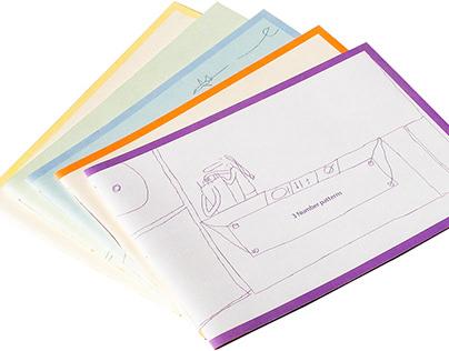 Educational textbook design, illustration, typesetting