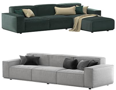 Arflex Marechiaro Sofa 3D model