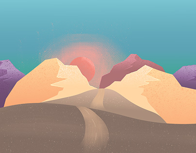 Editorial illustration for a Travel Article