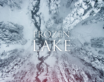 Frozen Lake - title sequence
