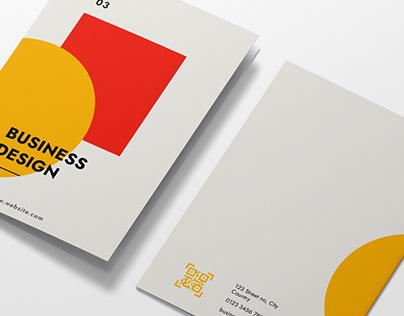 Minimal Modern Bi-Fold Brochure
